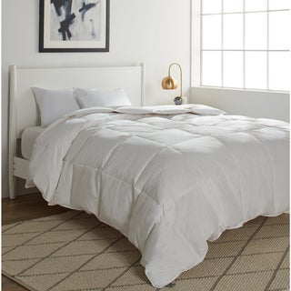Elle 250 Thread Count White Goose Down And Feather Comforter (3 options available)