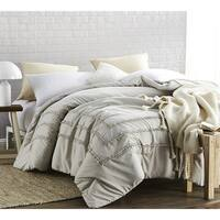 BYB Silver Birch Border Ruffles - Handcrafted Series - Oversized Comforter