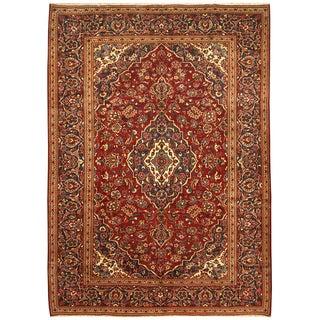 Handmade Kashan Wool Rug (Iran) - 8'2 x 11'4