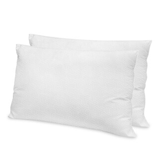 Restonic Luxury Hotel Hypoallergenic Gel Fiber Pillow (Set of 2)