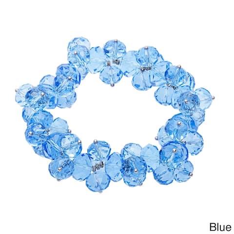Tire Bead Cluster Bracelet