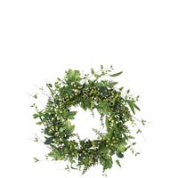 Foliage, Pod, and Berry Wreath