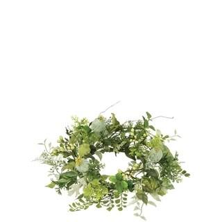 Mixed Foliage Wreath