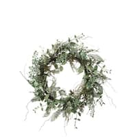 Succulent and Foliage Wreath