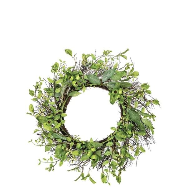 Leaf and Pod Wreath
