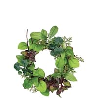 Herb and Berry Wreath