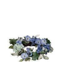 Hydrangea and Petunia Wreath