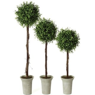 Link to Boxwood Topiary Tree Similar Items in Decorative Accessories