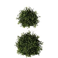 Boxwood Orbs - Set of 2