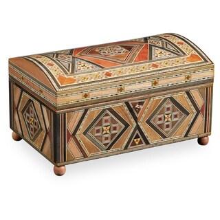 Handmade Mosaic Jewelry Box 2 Layers (Lebanon)