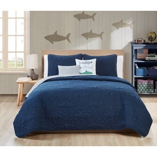VCNY Home Finn 5-piece Pinsonic Reversible Quilt Set