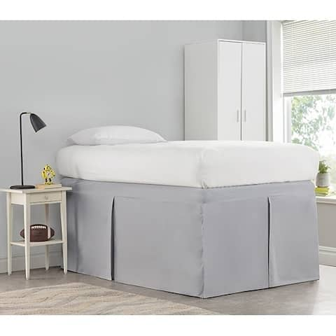 Tailored Dorm 32-inch Drop Bed Skirt