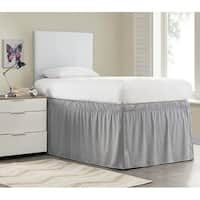 Ruffled Dorm 32-inch Drop Bed Skirt