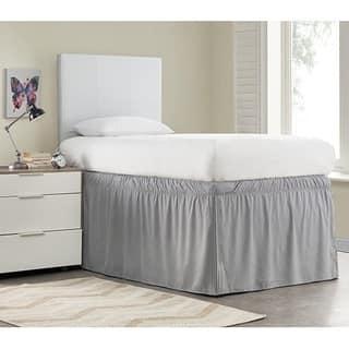 Ruffled Dorm 32-inch Drop Bed Skirt