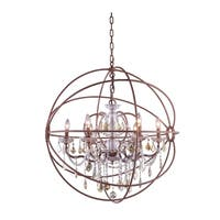 Royce Edge 6-Light Rustic Intent Chandelier