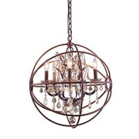 Royce Edge 5-Light Rustic Intent Pendant