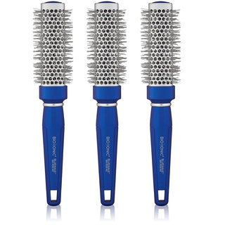 Bio Ionic Bluewave Nano-Ionic 1.25-inch Medium Conditioning Brush (Pack of 3)