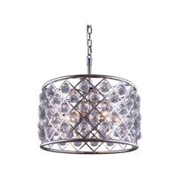 Royce Edge 6-Light Polished Nickel Pendant
