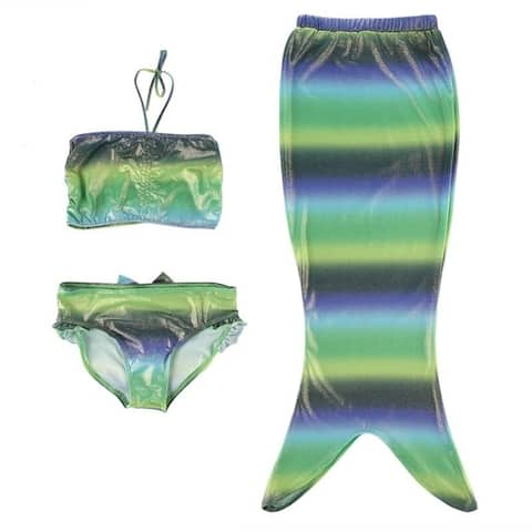 Girls' Mermaid Swimsuit