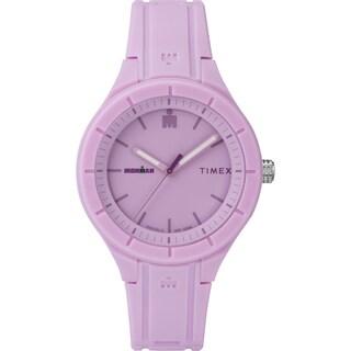Timex TW5M17300 Ironman Essential Urban 38mm Light Purple/Purple Silicone Strap Watch - PURPLE