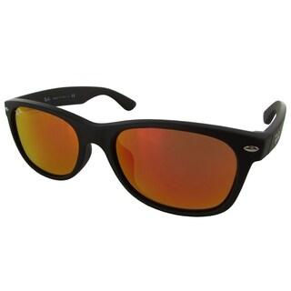 e7988d3bb2 Shop Ray-Ban RB4165 622 T3 Justin Classic Black Frame Polarized Grey ...