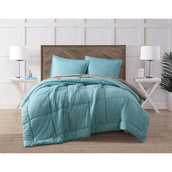 Shop Brooklyn Loom Jackson 4 Piece Comforter Set With