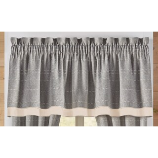 Croscill Berin Double Layer Valance - 72 x 20