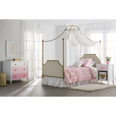 Little Seeds Monarch Hill Gold Clementine Canopy Bed