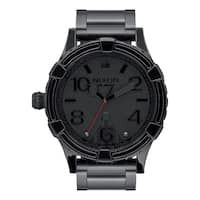Nixon Men's 51-30 SW Darth Vader Quartz Stainless Steel Casual Watch - Black