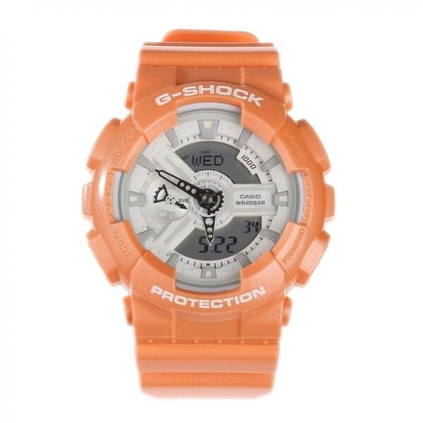 Casio G-Shock GA-110SG Analog/ Digital Watch Orange