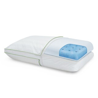 Restonic Adjustable ComfortCare Memory Foam & Fiber Pillow