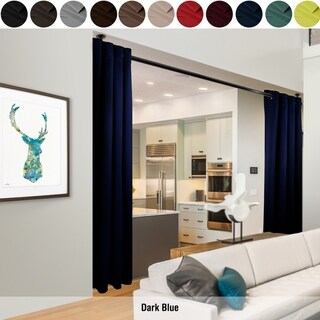 """InStyleDesign 96""""H Room Divider Curtain with Grommet (1 Panel)"""