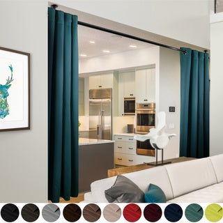 """InStyleDesign 108""""H Room Divider Curtain with Grommet (1 Panel)"""