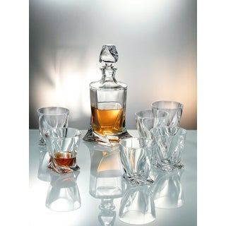 Crystalite Bohemia Quadro Whiskey Set