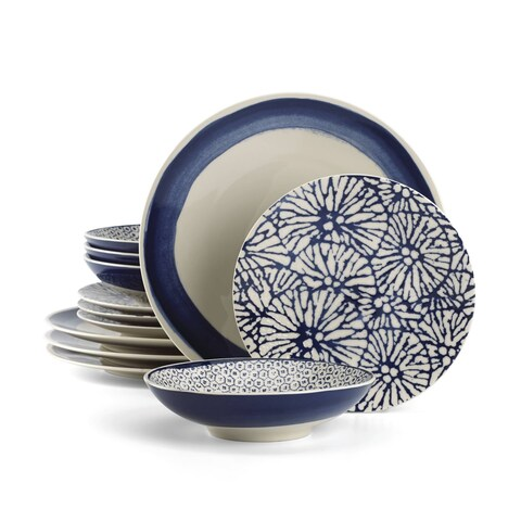 Lenox Market Place Indigo 12 Piece Set