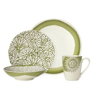 Lenox Market Place Moss 4 Piece Place Setting  sc 1 st  Overstock.com & Stoneware Lenox Dinnerware For Less | Overstock