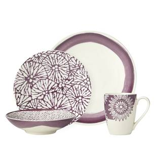 Lenox Market Place Berry 4 Piece Place Setting  sc 1 st  Overstock & Purple Dinnerware For Less | Overstock
