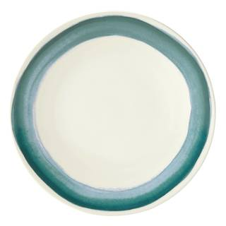 Lenox Market Place Teal Dinner Plate