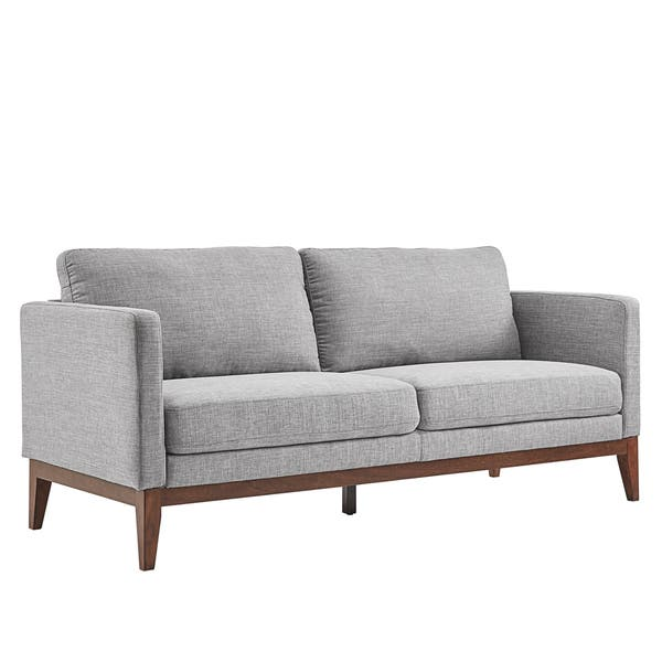 Astounding Shop Perry Linen Upholstered Sofa And Loveseat By Inspire Q Pabps2019 Chair Design Images Pabps2019Com