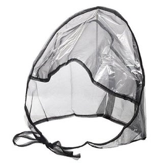 Rain Bonnet Waterproof RainStopper With Full Cut Visor & Netting