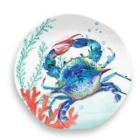 Sea Life Salad Plate Crab