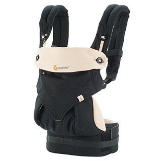 Ergobaby Four Position 360 Baby Carrier Black Camel