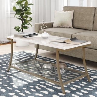 Avenue Greene Dixie Brass Coffee Table
