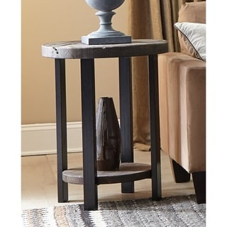 Carbon Loft Lawrence Reclaimed Wood End Table