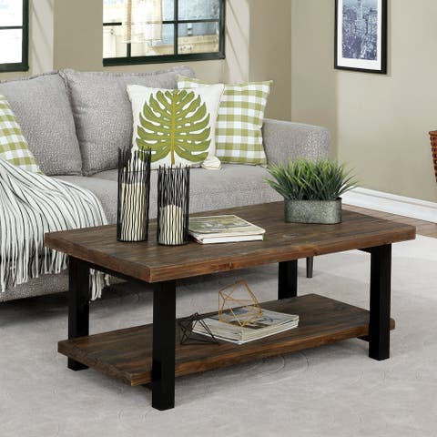 Carbon Loft Lawrence Reclaimed Solid Wood 42-inch Coffee Table