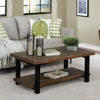The Gray Barn Michaelis Reclaimed Wood 42 Inch Coffee Table