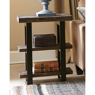 Carbon Loft Lawrence 2-shelf Rustic End Table