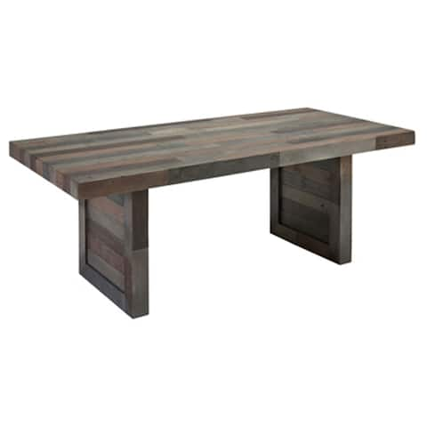 Strick & Bolton Pivi Reclaimed Wood 82-inch Dining Table