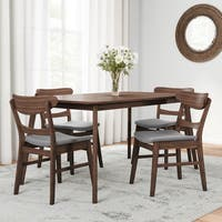 Carson Carrington Grisslehamn Mid-century Rectangle Dining Set (5-piece)