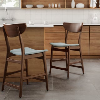 Groovy Buy Mid Century Modern Counter Bar Stools Online At Machost Co Dining Chair Design Ideas Machostcouk